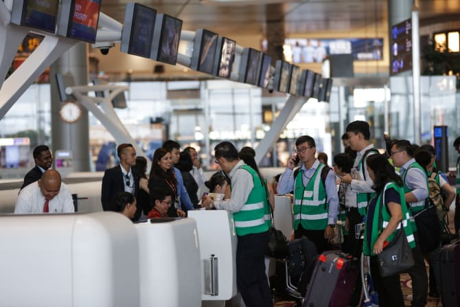 3,000 Airport staff to work at T4