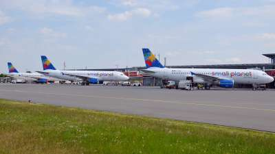 Small Planet Airlines Germany A320s