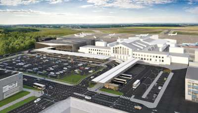New passenger terminal at Vilnius Airport