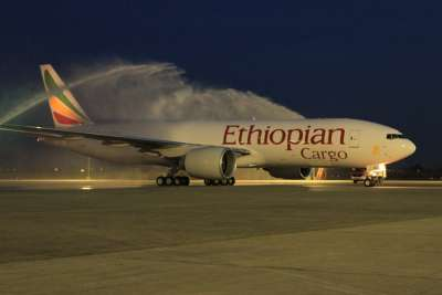 The arrival of the 8th B777F for Ethiopian Cargo