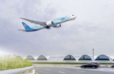 China Southern Airlines Boeing 787 Dreamliner aircraft