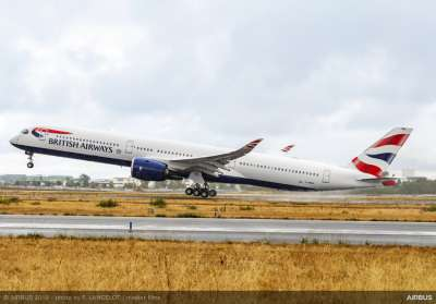 British Airways A350-1000