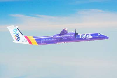 Flybe Bombardier Dash 8 Q400 Aircraft