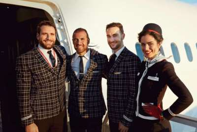 JetBlue and Norwegian crew