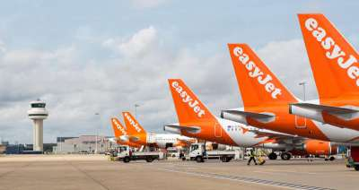 easyJet aircraft tails