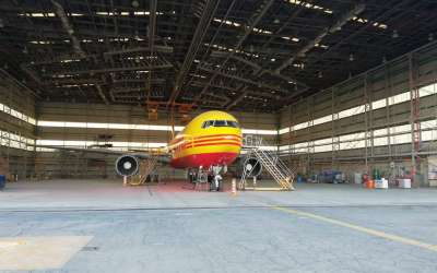 DHL Boeing 767 Freighter
