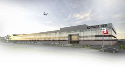 Bombardier Global Manufacturing Centre at Toronto Pearson