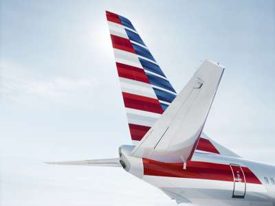 American Airlines Boeing 737 tail