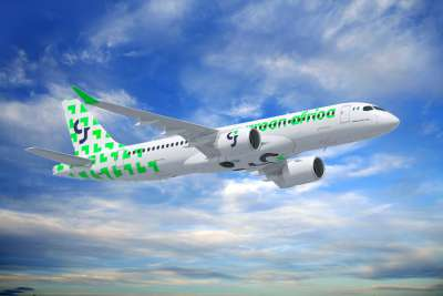 Green Africa Airbus A220-300