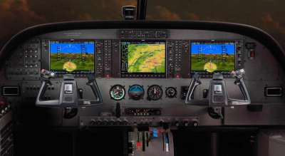 The new enhanced flight deck