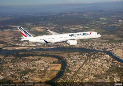 Air France A350 XWB delivery ceremony