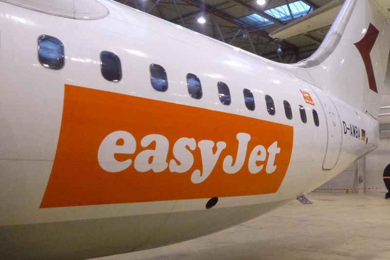 WDL Aviation BAE 146 for Easyjet