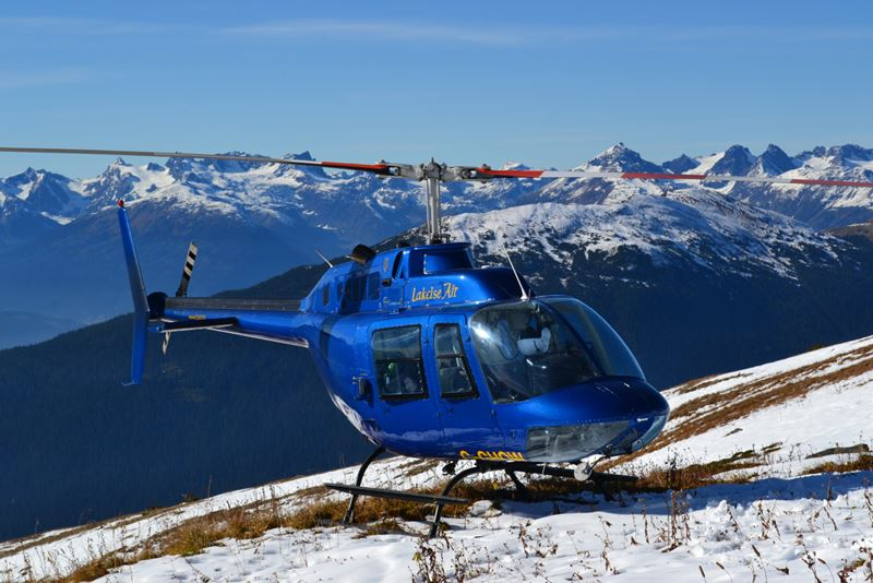 Lakelse Air helicopter