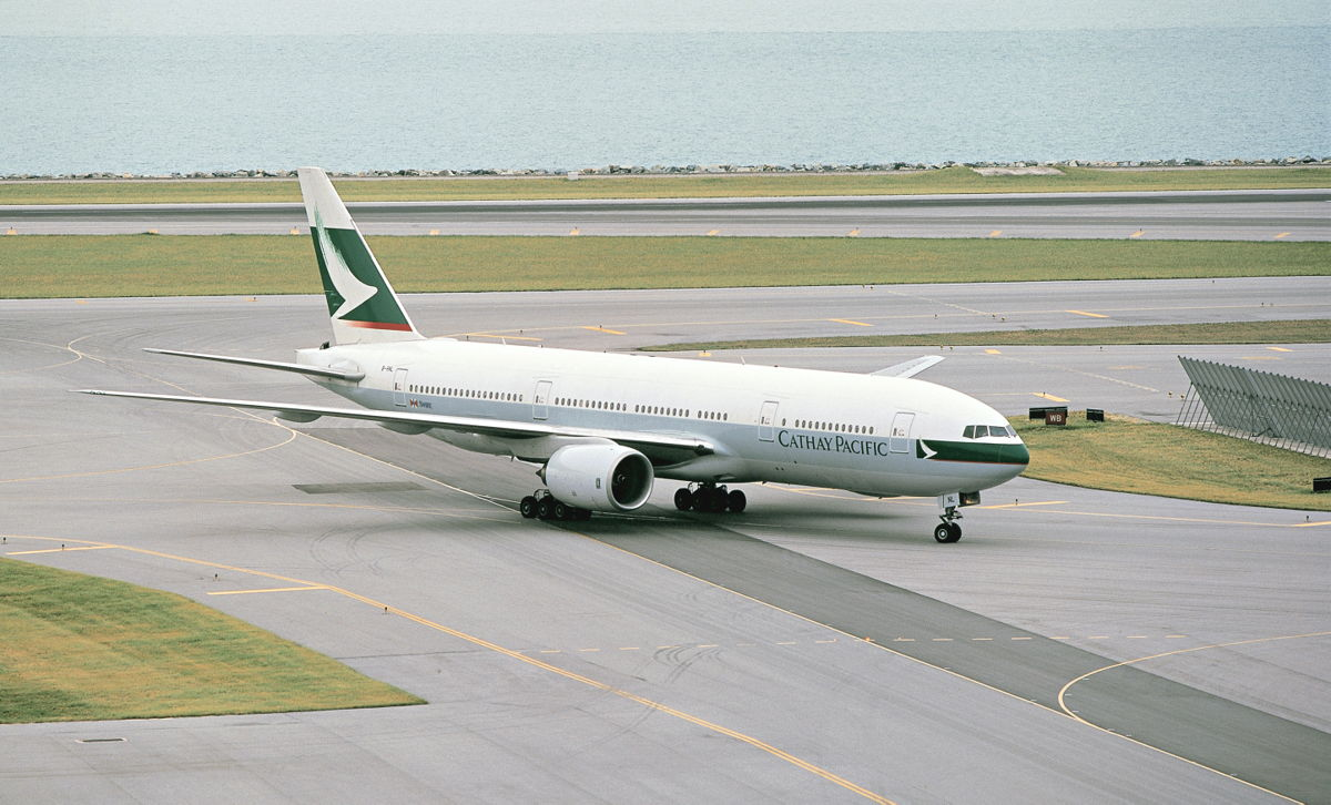 Cathay Pacific Boeing 777-200